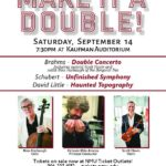 Marquette Symphony Orchestra Make It Double Concernt September 14th 2019