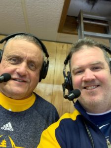 Mark Evans and Gregg Nelson had the coverage from Calumet on Sunny 101.9 for Friday night's playoff game.