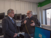 Walt and Jim talking live on air from COMPRENEW