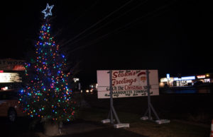 The 2019 Catch the Christmas Spirit Tree Lighting Ceremony in Marquette Township.