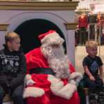 Some kids are just a little scared of Santa.