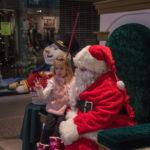 This little girl had an entire list ready for Santa.