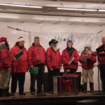 These guys sang lots of popular Christmas carols everyone could enjoy.