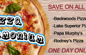 Pizza Pandemonium with the Great Lakes Shopping Show