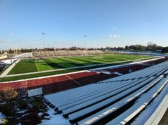 This is the field at Mt. Pleasant High School. Really nice facility!
