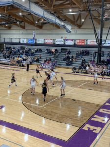 Negaunee maintains possession in its six-point victory over Gladstone on Sunny 101.9.