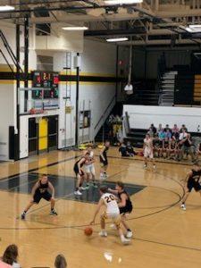 The Miners played tough defense all night long in a 34-point defeat of Gwinn on Sunny 101.9.