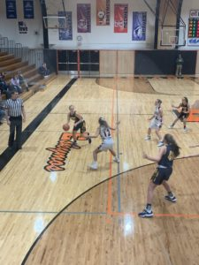 Negaunee controls the ball in its two-point loss to Escanaba on Sunny 101.9.