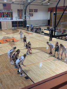 The Miners were ahead early, but ultimately fell at the buzzer 50-48 to the Escanaba Eskymos on Sunny 101.9.