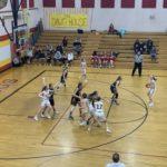 Hancock controls the ball against Negaunee.