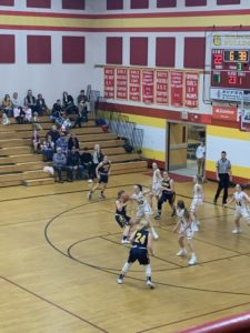 Negaunee had a good showing offensively, scoring 33 points in the second half.