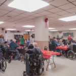 Each year DJ Jacobetti hosts this holiday event for our vets.