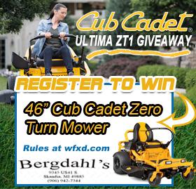 Win the Cub Cadet ULTIMA ZT1 Zero Turn Mower