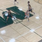 The Emeralds attempt a last second heave at the buzzer.