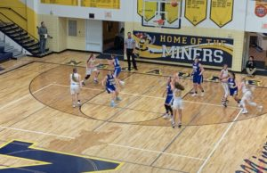 Chloe Norman shoots the 3-point shot for Negaunee, she finished with a game-high 24 points.