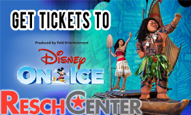Disney on Ice at the Resch Center