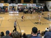 The Miners battled to the end, but came up short against the Gwinn Modeltowners on Tuesday night.