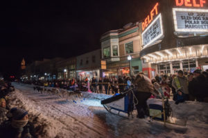 Good luck to all of the mushers participating in the weekend's races.