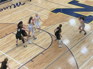 The Miners survived and advanced with a one-point win over Gwinn in postseason play.