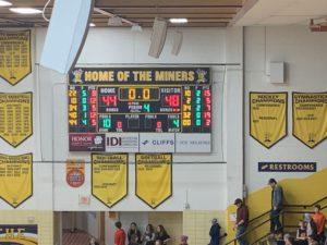 Final Score: Westwood 48, Negaunee 44.