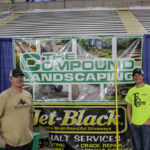 Visit The Compound Landscaping and Jet-Black to talk about getting your yard or driveway redone.