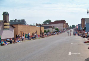 The Pioneer Days are a major part of Negaunee's 'small-town American' culture!