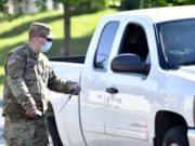 Michigan Guard Conducts Free COVID-19 Drive-Thru Testing