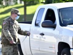 Michigan Guard Conducts Free COVID-19 Drive-Thru Testing