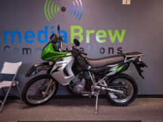 Win this 2007 Kawasaki KLR650 Motorcycle.