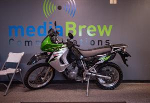 Win this 2007 Kawasaki KLR650 Motorcycle.