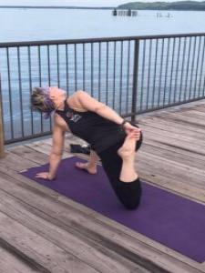Yoga on the Boardwalk July 16, 2020