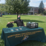 The NMU Police had a booth too.