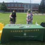 Career Services was also on site.