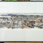 This beautiful piece captures the history from Marquette in the 1980s