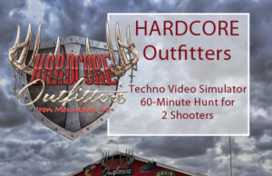 Save on a 60 minute session of virtual simulated hunting at Hardcore Outfitters!