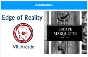 Grab friends for a fun filled weekend of virtual reality and escape rooms!
