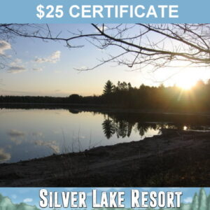 Enjoy the last warm days of summer and fall at Silver Lake Resort