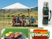Enjoy the last days of summer with the Full Camping Set from Wilderness Sports!