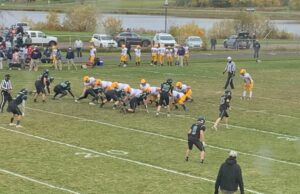 Negaunee drives down the field during its big win over Gogebic.