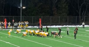 In a close game, the Negaunee Miners lost to the Houghton Gremlins 15-13 in overtime on Sunny 101.9.