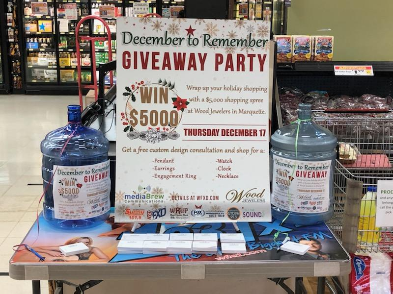 Register to win at Jet's Pizza in Marquette (or Escanaba)