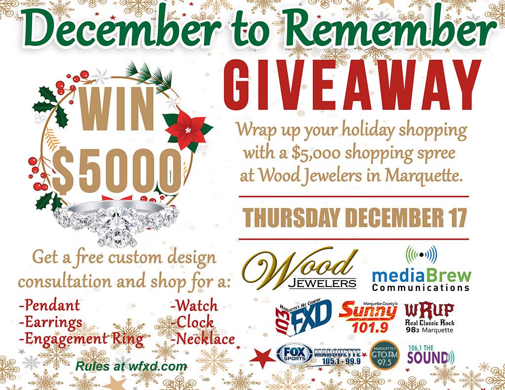 Enter to Win a $5000 shopping spree.