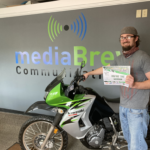 Josh Argall from Ishpeming took home the Kawasaki KLR650 today!