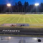 The field sat still before the District Semifinal game between Negaunee and Westwood.