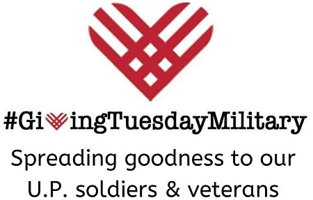 U.P. Campaign Joins GivingTuesday Military to Inspire 1 Million Acts of Kindness Worldwide on December 1