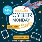 Shop UPBargains.com for Cyber Monday 2020