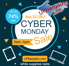 Shop UPBargains.com for Cyber Monday 2020