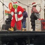 Oh boy, he's made it on stage!