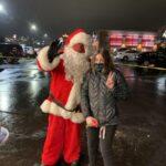 Even Santa wore a mask!