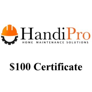 UPBargains.com – Deal of the Day: $100 HandiPro Home Maintenance Certificates ONLY $60!!!